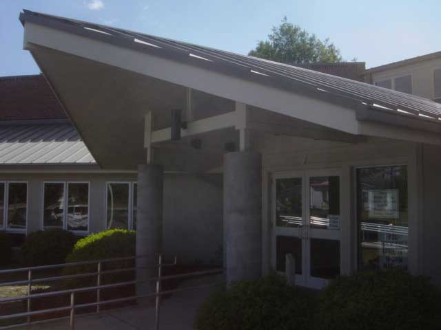 Leland Library – New Entrance